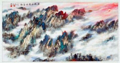 """相较于西方的风景画,中国的""""山水画""""不仅仅是字面上的称谓"""
