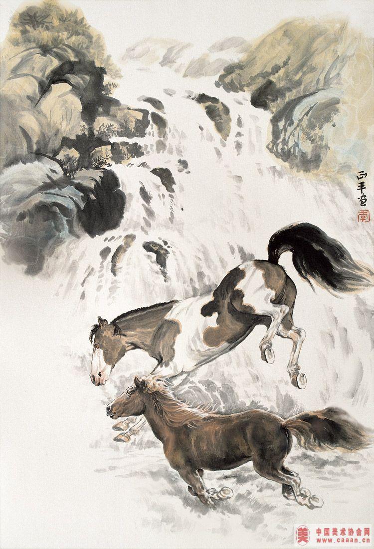 动物画册马瀑-中国