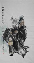 国画家石川 国画家石川作品欣赏 活佛济公 著名国画家石川官方网站